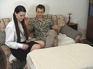 Teen Back out of bounds Takes Spanking