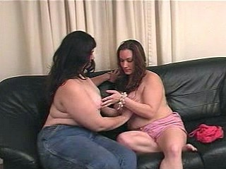 Plump Chick intrusion Spanked