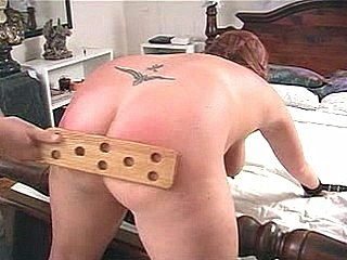 Plump Ass Paddled