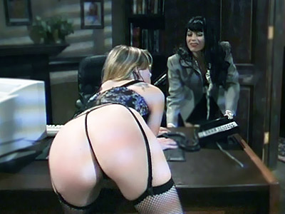 Butt Spanked Slave